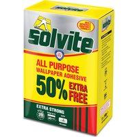 Solvite All Purpose Wallpaper Adhesive Paste 650g