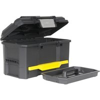 Stanley One Touch Plastic Tool Box 480mm