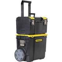 Stanley 3 in 1 Mobile Work Centre Tool Box Stack