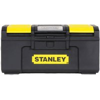 Stanley One Touch Plastic Tool Box 400mm