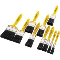 Stanley 10 Piece Hobby Paint Brush Set
