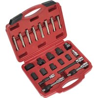 Sealey 23 Piece Alternator Freewheel Pulley Removal Tool Kit