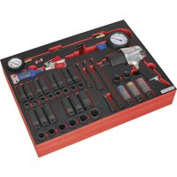 Sealey 42 Piece Impact Wrench, Socket & Tyre Tool Set in Module Tray for AP24 Tool Chests