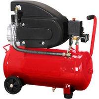 Air Compressor 2hp 24 Litre Tank 240v
