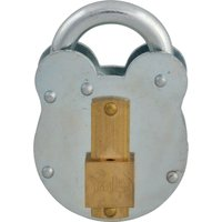 Yale Traditional Lever Padlock & Keyhole Cover 50mm Standard