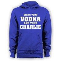Leicester City Jamie Vardy Vodka and Charlie Hoody (Blue)