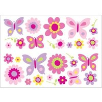 brewers wallpapers butterfly garden wall stickers, 01492