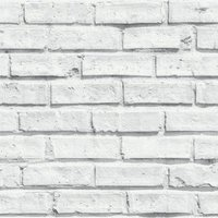 albany wallpapers white brick, 623004