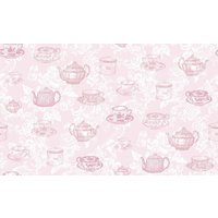 coloroll wallpapers teacups pink, m0840
