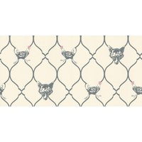 Barneby Gates Wallpapers Fox andamp; Hen Charcoal, BG0900102