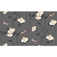 crown wallpapers paper orchid, m0929
