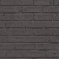 albany wallpapers black brick, 623007