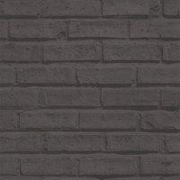 albany wallpapers black brick, 623007