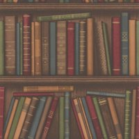 albany wallpapers bookshelf, 40545