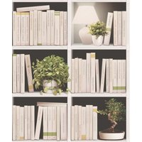 albany wallpapers contemporary bookcase, j79307
