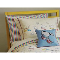sanderson pillowcases dogs in clogs housewife pillowcase, 512015