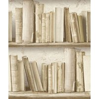 albany wallpapers vintage bookcase, sd3503