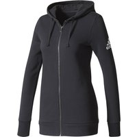 Adidas Womens Essentials Solid Full Zip Hoodie Fleeces & Hoodies