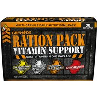 Grenade Ration Pack Vitamin Support (120 capsules) Vitamins and Supplements