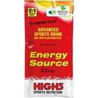 High5 Energy Source - 12 x 47g Powder Sachets Energy & Recovery Drink