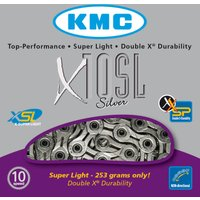 KMC X10-SL Silver 10 Speed Chain Chains