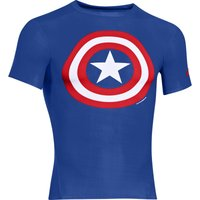 Under Armour Alter Ego Compression Top Captain America Compression Base Layers