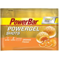 PowerBar PowerGel Shots - Orange - 16 x 60g Energy & Recovery Food