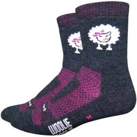 DeFeet Womens Baaad Sheep Socks Cycling Socks