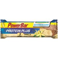 PowerBar Protein Plus Reduced in Carb Bar 30 x 35g Energy & Recovery Food