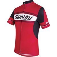 Santini Tau Short Sleeve Jersey Short Sleeve Cycling Jerseys
