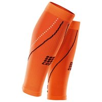 CEP Night Calf Sleeves 2.0 (Orange) Compression Base Layers