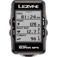 Lezyne Super Cycle GPS With Mapping GPS Cycle Computers
