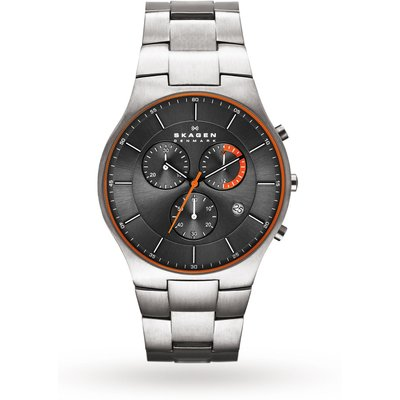 Skagen Men's Balder Titanium Chronograph Watch