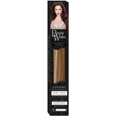 Beauty Works 24 Celebrity Choice - Weft Hair Extensions - Blonde Minx 613/60/10