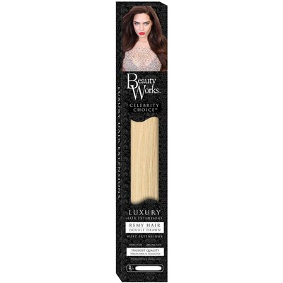Beauty Works 22 Celebrity Choice - Weft Hair Extensions - Rock Chic Blonde 613