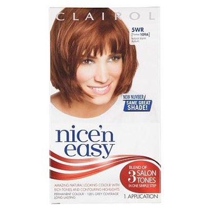 Nice'n Easy Permanent Hair Colour #5WR Natural Warm Auburn (Former #109A)