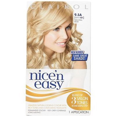 Nice'n Easy Permanent Hair Colour #9.5A Natural Baby Blonde (Former #101 )