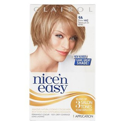 Nice'n Easy Permanent Hair Colour #9A Natural Light Ash Blonde (Former #102 )