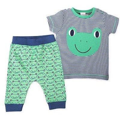 mini club frog print top and jogger set