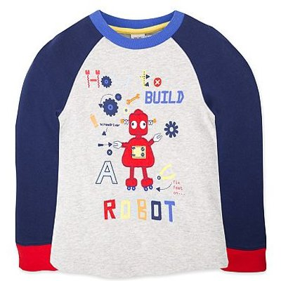 MC B LS ROBOT T/BLUE /080