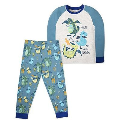MC B DRAGON PJ /BLUE
