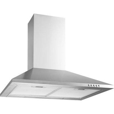 LOGIK  L60CHDX13 Chimney Cooker Hood   Stainless Steel  Stainless Steel - 5017416388160