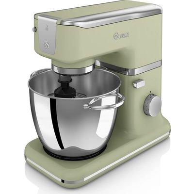 5055322508623   SWAN  Retro SP21010BLN Stand Mixer   Green  Green