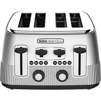 13045386377371 | TEFAL Avanti Classic 4 Slice Toaster   Silver  Silver Store