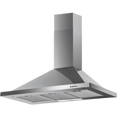 5055205053882 | Baumatic F100 2SS Chimney Cooker Hood   Stainless Steel  Stainless Steel
