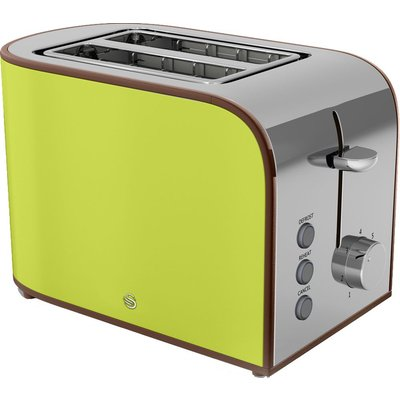 5055322520908 | SWAN  Retro ST17020LN 2 Slice Toaster   Lime  Lime Store