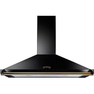 5028683063049 | RANGEMASTER  Classic CLAHDC90BB  Chimney Cooker Hood   Black   Brass  Black