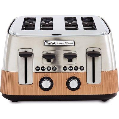 13045386377364 | TEFAL Avanti Classic 4 Slice Toaster   Copper Store