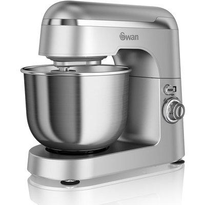 5055322512101   SWAN  Retro SP25010SN Stand Mixer   Silver  Silver