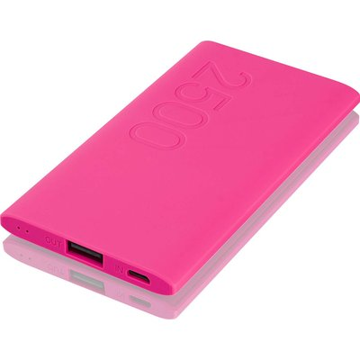 GOJI  G25PBPK16 Portable Power Bank   Pink  Pink - 5017416572224